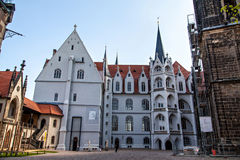 Meissen Albrechtsburg kasztelu kwadrat Obraz Royalty Free