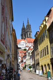 Meissen Cathedral Stock Photo