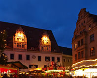 Meissen christmas market Royalty Free Stock Image