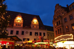 Meissen christmas market Royalty Free Stock Images