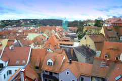 Meissen houses Germany Stock Photography