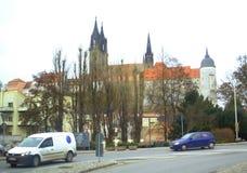 Meissen kasztel Niemcy Fotografia Royalty Free