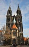 Meissen katedra Obraz Royalty Free