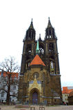 Meissen katedra Niemcy Fotografia Royalty Free