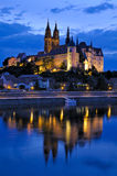 Meissen at night Stock Photography