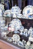 Meissen porcelain exhibition Stock Photography