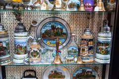 Meissen porcelain manufacture souvenirs Stock Images