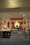Meissen-Porzellan-Showraum Lizenzfreies Stockfoto