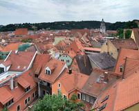 Meissen roof scenery Stock Image