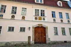 Meissen sławny grodowy Albrechtsburg Obrazy Stock