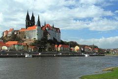 Meissen scenery Stock Photography