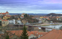 Meissen scenic view Germany Royalty Free Stock Photo