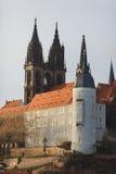 Meissen slott Arkivfoton