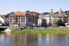 Meissen-Stadtbild an einem sonnigen Tag Stockbild