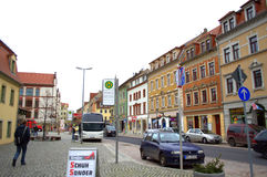 Meissenstraat Duitsland Stock Afbeeldingen