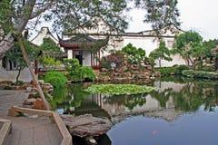 Meister des Nettogartens in Suzhou, China Stockfotos