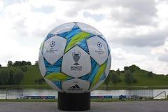 Meister-Liga-abschließende Vorschau Lizenzfreies Stockfoto