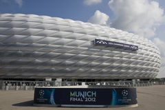 2012 Meister-Liga abschließendes Bayern Munich V Chelsea Stockfotografie