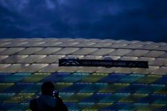2012 Meister-Liga-Schluss Chelsea Training Lizenzfreie Stockbilder