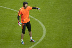 2012 Meister-Liga-Schluss Chelsea Training Lizenzfreies Stockfoto
