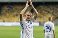 """Meister-Ligafußballspiel Dynamo Kyiv-†""""Young Boys, Juli lizenzfreie stockfotografie"""