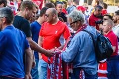 Meister-Ligaschlu? 2018 in Kiew stockbild