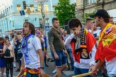 Meister-Ligaschlu? 2018 in Kiew lizenzfreie stockfotos