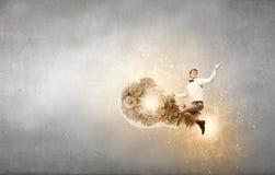 Meister von kreativen Ideen Lizenzfreie Stockfotos