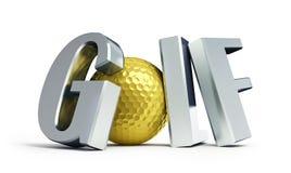 Meisterschaft-Golf stock abbildung