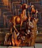 Meisterwerke durch unbekannte Handwerker stockfotos