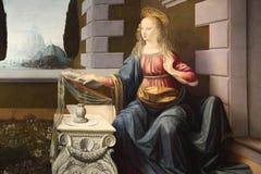 Meisterwerke in Uffizi-Galerie, Florenz, Italien lizenzfreie stockfotos