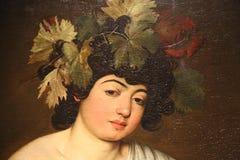 Meisterwerke in Uffizi-Galerie, Florenz, Italien stockbilder