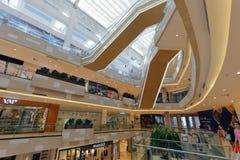meisui购物中心内部结构  免版税图库摄影