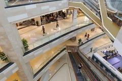 从meisui购物中心的顶端俯视 图库摄影