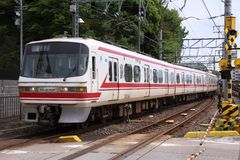 Meitetsu Express Royalty Free Stock Images