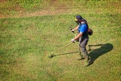 meja för gräs Arkivfoto
