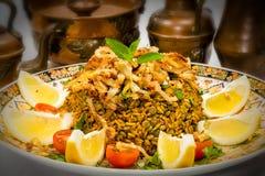 Mejadra - Arabian dish Stock Photo
