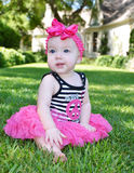 Mejillas dulces del bebé imágenes de archivo libres de regalías