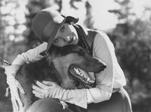 Mejor amigo del hombre Foto de archivo libre de regalías