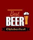 Mejor bandera alemana de la cerveza Fotografía de archivo libre de regalías