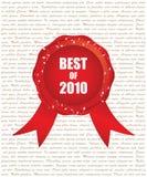 Mejor de 2010 Imágenes de archivo libres de regalías