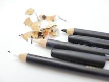 Mejor mantenga sus lápices agudos imagenes de archivo