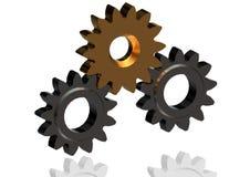 """mejora continua del †de las ruedas dentadas 3D """"en equipo Imagen de archivo libre de regalías"""