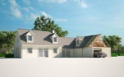 Mejora de la casa ilustración del vector