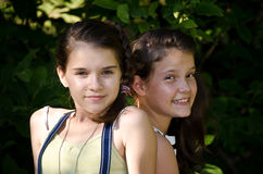 Mejores amigos 2 Imagen de archivo