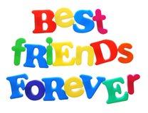 Mejores amigos por siempre Fotografía de archivo libre de regalías