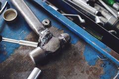 Mekaniker Tools royaltyfri bild