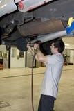 mekanikerworking Fotografering för Bildbyråer