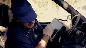 Mekanisk diagnos, medelkontroll för auto reparation lager videofilmer
