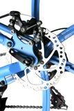 Mekanisk diskettbroms som isoleras Fotografering för Bildbyråer